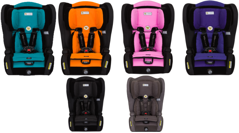 Infa Secure Evolve Carseat Review The Only Child Restraint