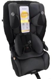 maxi-cosi luna car seat front view